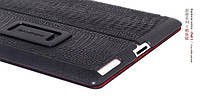Borofone Crocodile case for iPad 2 black, фото 1