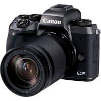 Цифровой фотоаппарат Canon EOS M5 18-150 IS STM Black Kit (1279C049)