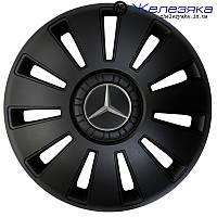 Автомобильные колпаки на колеса ФОРСАЖ R16 REX Mercedes BLACK