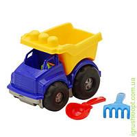 "Машина ""Тотошка"" самосвал №1: машинка, лопатка и грабельки (ЛГ3) COLORplast"