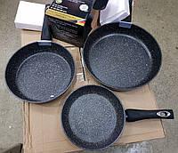 Набор сковородок EDENBERG EB-1735 мрамор (3 предмета) 24, 26, 28 см