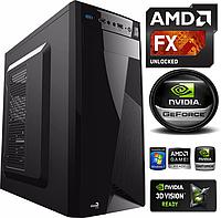 Игровой Компьютер AMD FX 4x4.0GHz 8Gb 1500Gb HDD 2Gb GeForce GTX750Ti 550W