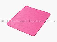 Силіконовий килимок для макаронс - 30 шт.
