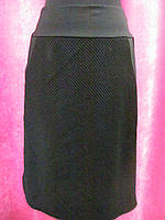 Теплая юбка трапеция, с карманами р.54 код 4836М