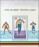 Монголія 1988 - спорт - блок - MNH XF