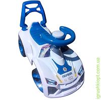 Машинка для катания Ламбао Белый, ORioN