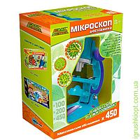 Микроскоп исследователя, 8+, укр.упаковка, PS