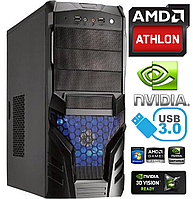 Игровой Компьютер AMD 4x3.2GHz 8Gb 1000Gb HDD 2Gb GeForce GTX750 500W