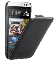 Чехол Avatti HTC Desire 616 V3 dual sim navy Slim Flip black