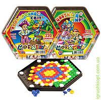 """Мозаика """"Разноцветный мир"""", 220 деталей, ТехноК"""