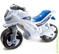 Мотоцикл 2-колесный с сигналом полицейский, с каской и значком, ORioN