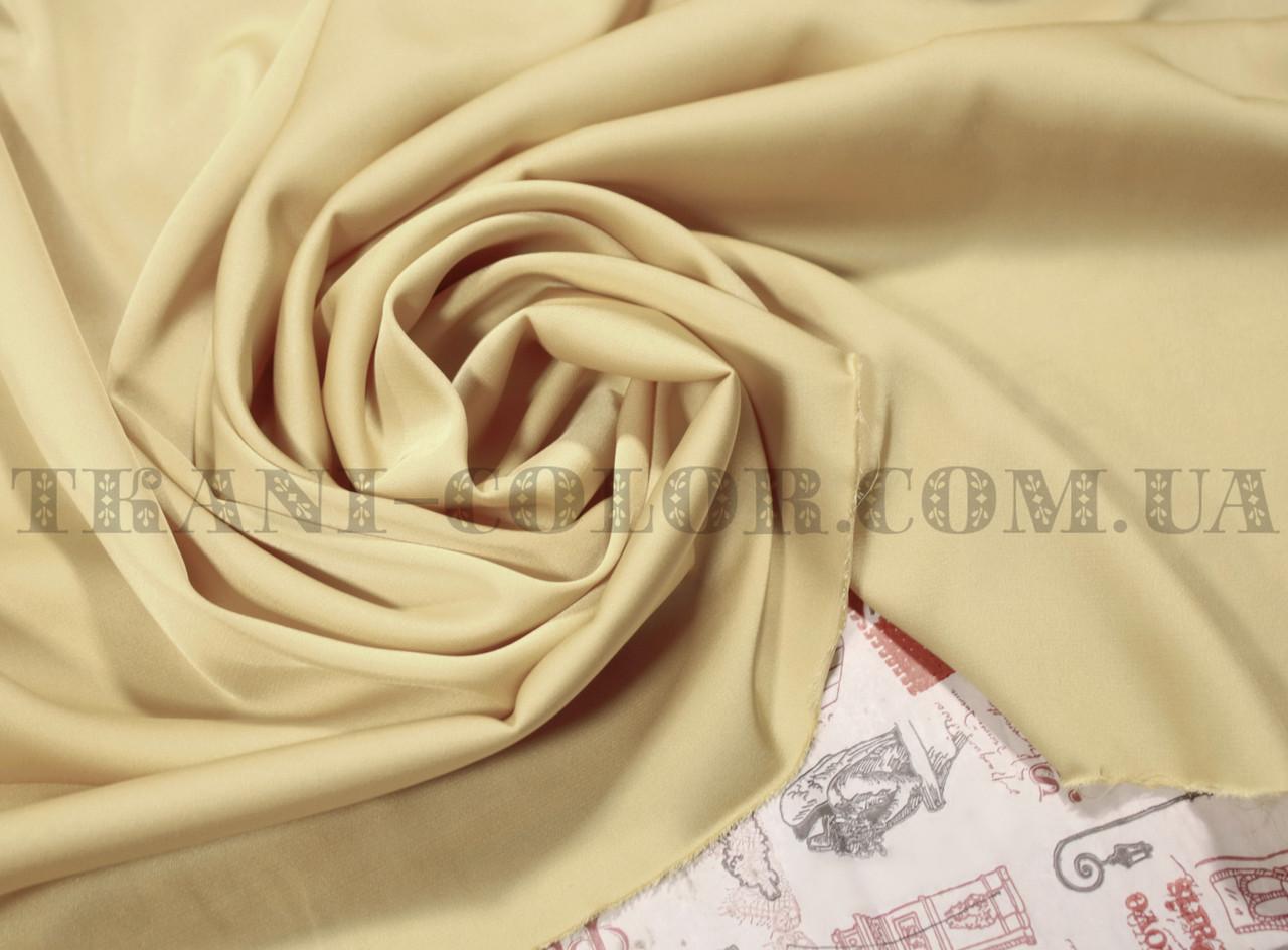 Ткань шелк армани бежевый