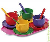 Набір посуду з підносом (13 предметів) Юніка