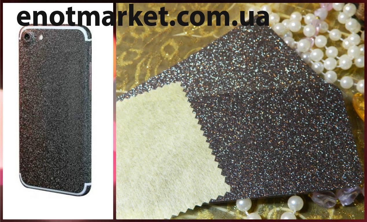 """Наклейка защитная пленка для Aplle iPhone 7 """"black"""""""