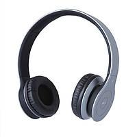 Гарнитура (наушники с микрофоном) беспроводная Gemix BH-07 Grey, Bluetooth v3.0+EDR