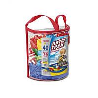 Авто Трек в рюкзаке ( 40 деталей ) Юника арт.6382023, детский игровой набор, гоночная трасса