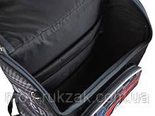 """Ранец ортопедический каркасный """"1 Вересня Smart"""" PG-11 Race car 554513, фото 3"""
