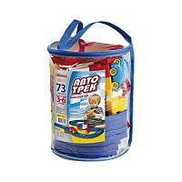 Авто Трек в рюкзаке ( 73 детали ) Юника арт.6382631, детский игровой набор, гонки, гоночый трек