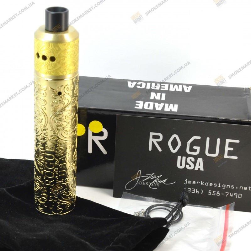 Rogue USA V4 Kit Gold Электронная сигарета Вейп Мех мод .