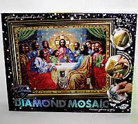 """Набор для творчества «DIAMOND MOSAIC» Алмазная живопись """"Икона Тайная Вечеря"""", DankO toys"""