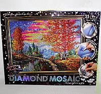 """Набор для творчества «DIAMOND MOSAIC» Алмазная живопись """"Осень"""", DankO toys"""