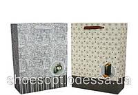 Подарочные пакеты молодежные 32х26х10 см микс, фото 1
