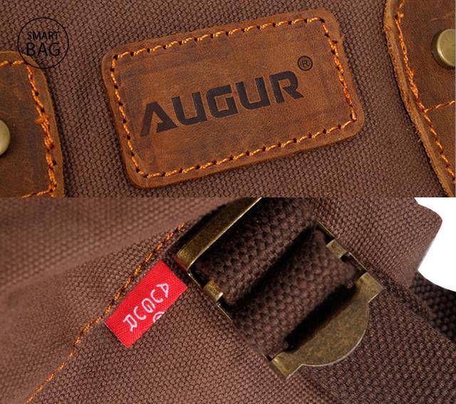 Мужская сумка на пояс Augur | коричневая
