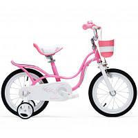 """Детский велосипед Royal Baby LITTLE SWAN 12"""", розовый (RB12-18-PNK)"""