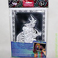 "Объёмная картина -раскраска 3D ART Антистресс ""Носорог"", DankO toys"