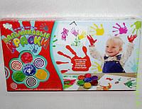 Пальчиковые краски, красн., DankO toys