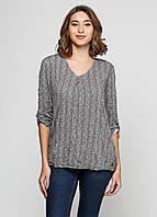 Блузка женская TOM TAILOR цвет розово-черный размер XL арт 1038574.00.70, фото 1
