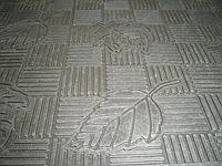 Резиновый коврик для дома  К-1