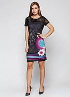 Платье женское Desigual цвет черный размер 36 арт 61V28Y8, фото 1