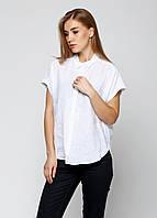 Рубашка женская MASSIMO DUTTI цвет белый размер 44 арт 5100/598/250, фото 1
