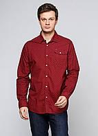 Рубашка мужская Scotch & Soda цвет бордовый размер XXL арт 127051/1504-09.20005, фото 1