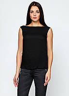 Майка женская ZARA цвет черный размер S арт 7901/223/800, фото 1