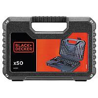 Набор сверл и бит BLACK&DECKER A7217 50 предм. (A7217)