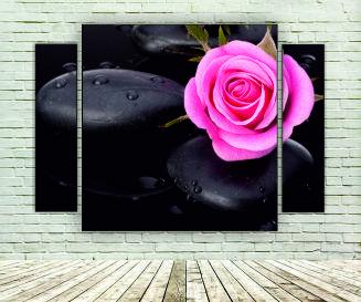 "Модульна картина ""Троянда"""