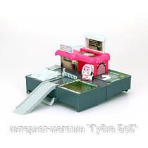 Гараж с мини трансформером Эмбер