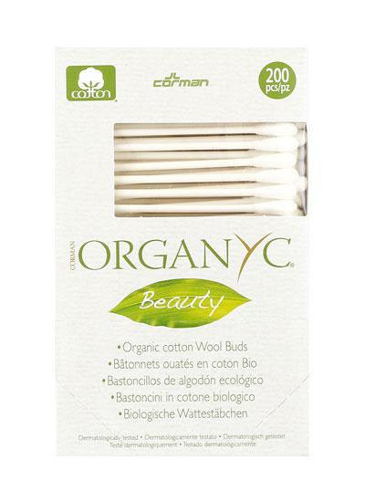 Органічні гігієнічні палички з бавовни Corman Organyc
