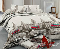 Семейный комплект постельного белья из поплина