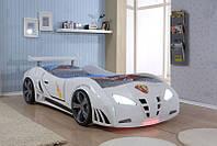 """Детская кровать в виде автомобиля """"""""Extra turbo power"""""""
