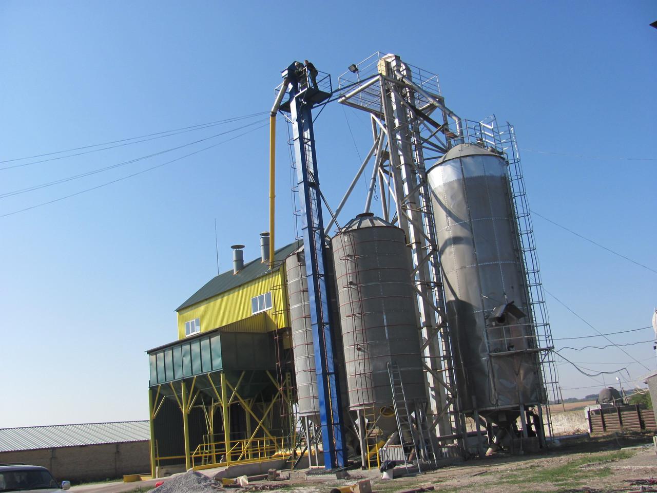 Зерноочисний комплекс ЗАВ-100. Будівництво з нуля, реконструкція, модернізація
