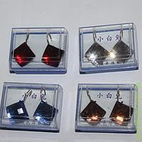 """Серьги """"Цветные ромбики"""" в коробочке М-126-5"""