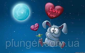 "Вафельна картинка для торта ""Love"", (лист А4, товщина 0,3 мм)"