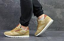 Мужские кроссовки Reebok Workout бежевые,плотный текстиль 43,44р, фото 3