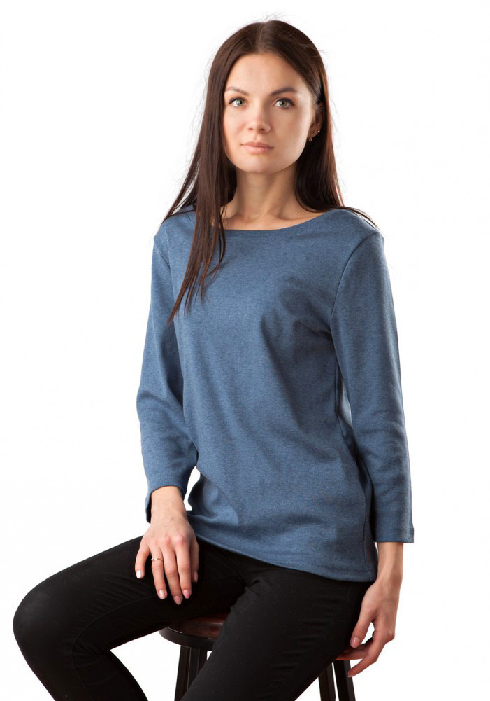 Удобный пуловер хлопковый (размеры XS-L)