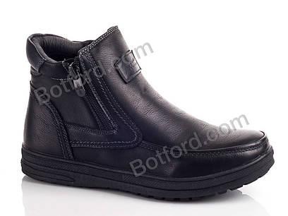 Ботинки подросток Леопард KA87-1 black