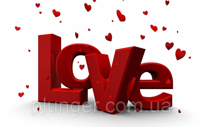 """Вафельная картинка для торта """"Love"""", (лист А4, толщина 0,3 мм)"""