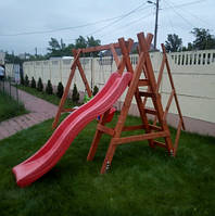 Перила к Детскому комплексу уличному деревянные